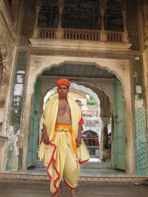 Male in Dhoti Dupatta and Pagdi: Uncommon Dresses 2 Jaipur