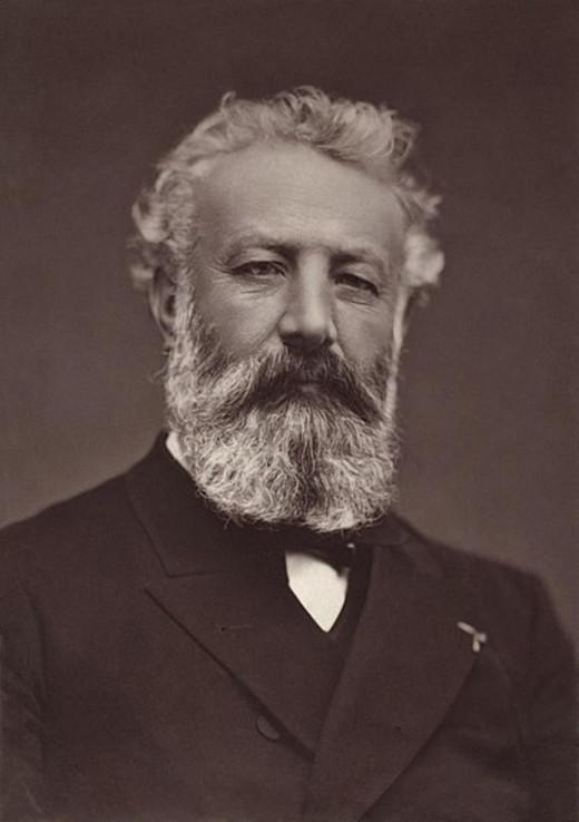 Woodburytype portrait of Jules Verne (1884), by Étienne Carjat