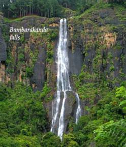 Main Waterfalls in Sri Lanka - part 1