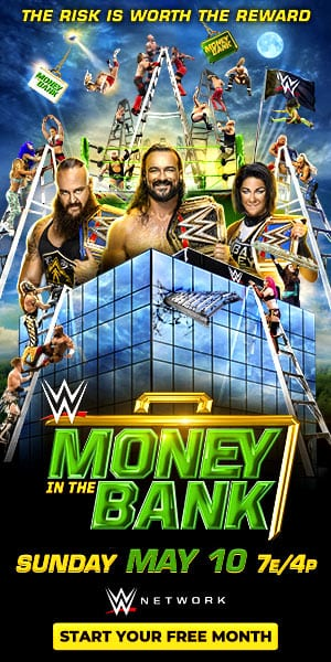 Money in the Bank 2020 poster