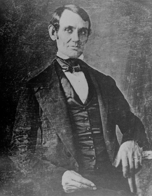 Lincoln didn't always have the beard