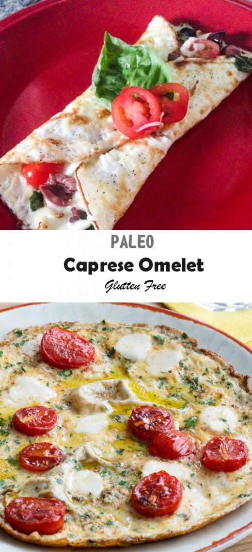 Paleo Recipes caprese omelete Gluten free