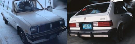 Tammy Zywicki's 1985 Pontiac T1000 with New Jersey plates. Photo courtesy of the FBI.