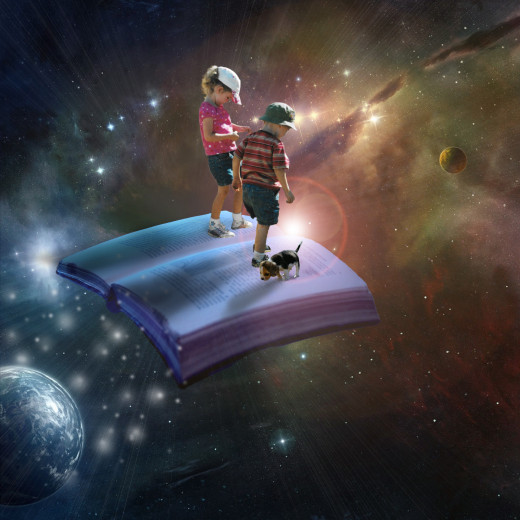 Take the adventure of a good book.