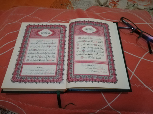 Al-qur'an, the guideline of the Muslim