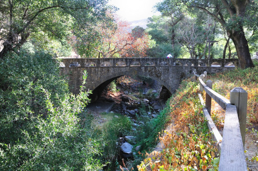 Alum Rock Park offers gorgeous trails and scenery