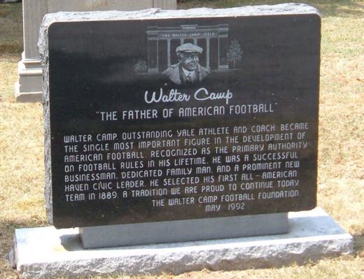 Walter Camp Marker