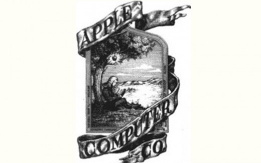 Apple Computer's Logo Then