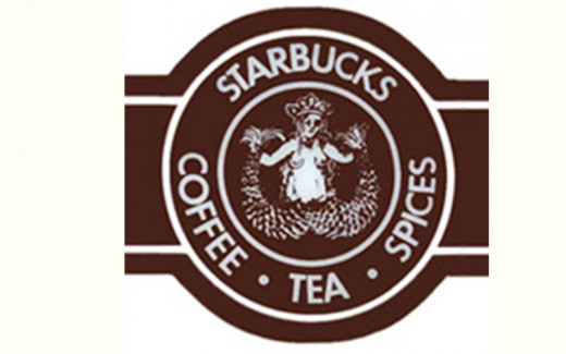 Starbucks Logo Then