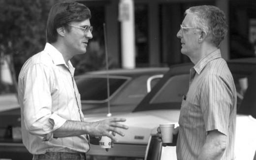 Deborah Poe's, boyfriend and onetime pastor Scott Iaggi talking to her father in 1990.