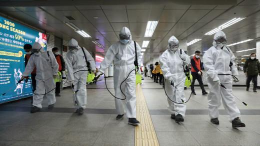 Corona Virus Cleaning