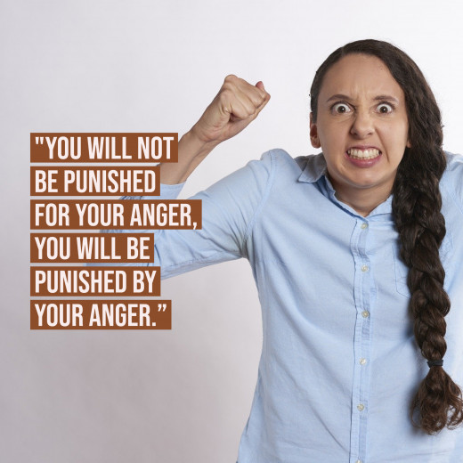 Anger is like a curse for our emotions.