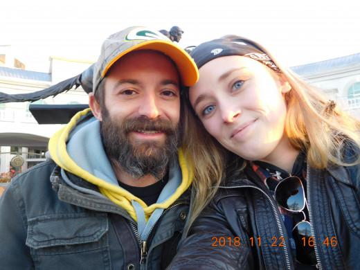 My fiance and I
