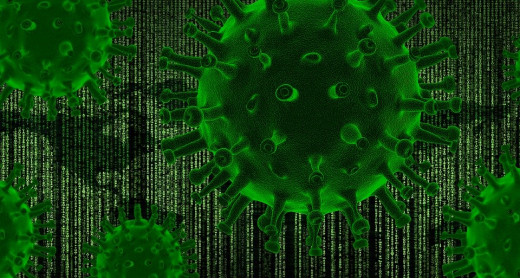 The coronavirus pandemic has become the main topic in the conspiracy theory