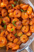 Yummy Orange Shrimp Curry