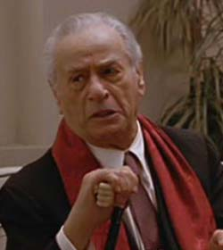 Don Altobello (Wallach) in The Godfather Part III