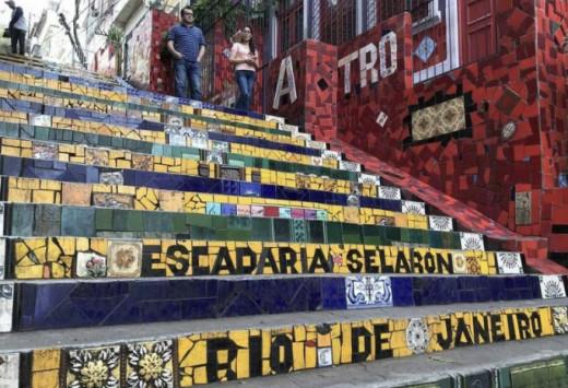 Selaron Staircase.