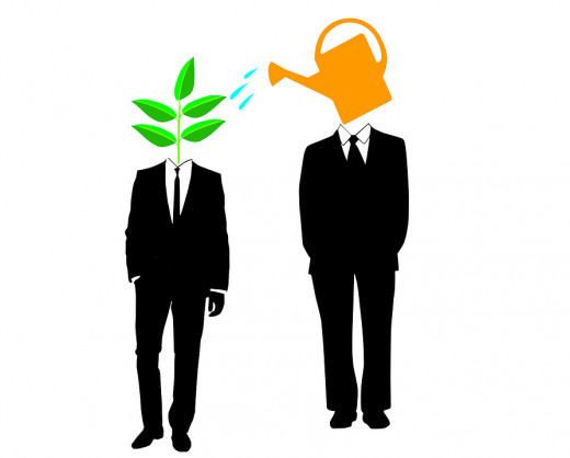 MENTORING MEANS STIMULATING GROWTH IN AN INDIVIDUAL