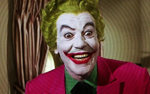 Cesar Romero as The Joker in ABC's Batman Series, 1966
