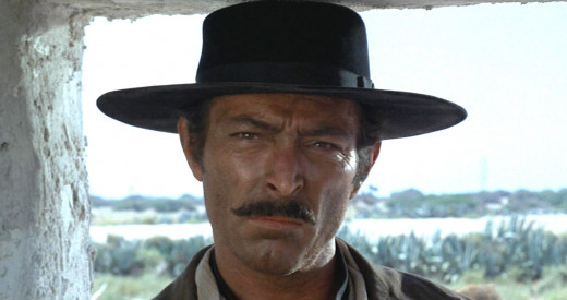 Van Cleef in The Good, Bad, and the Ugly - 1966