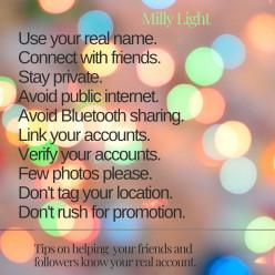 How to Avoid Counterfeit Social Media Accounts.