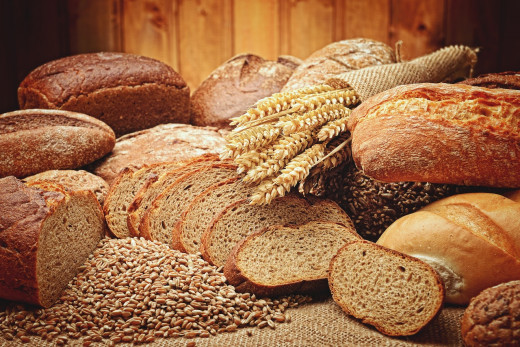 Bread: Image by marco aurelio from Pixabay