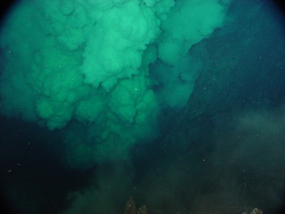 A picture of  an underwater vent