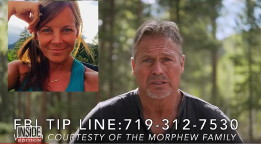 Barry Morphew, Suzanne's husband, made an emotional plea to the public offering a $200,000 reward for his wife's safe return. Photo courtesy of Inside Edition.