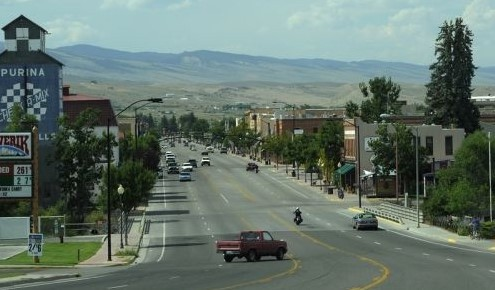 A quaint mountain town, Lander is located in Central Wyoming just south of the Wind River Indian Reservation.