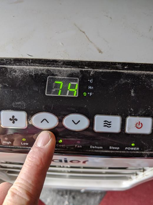 Temperature selection