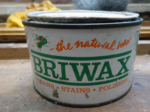The beeswax I used, which contains no silicon oil, therefore provides a long lasting finish and protection to the wood.