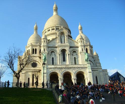 Basilica Sacre-Couer (Sacred-Heart) in Paris