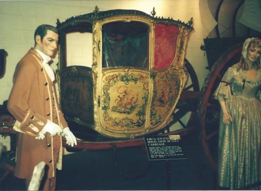 18th century carriage, Car and Carriage Caravan Museum, Luray Caverns, VA