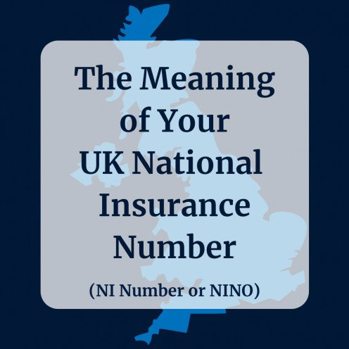 Meaning of Last Letter of UK National Insurance Number (Your NINO)