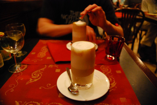 A must-try while you were in Italy. You can't get wrong with a cup of latte or cappuccino there.