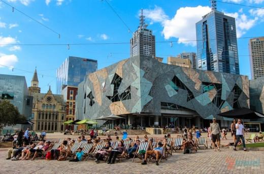 Cultural hub of Melbourne