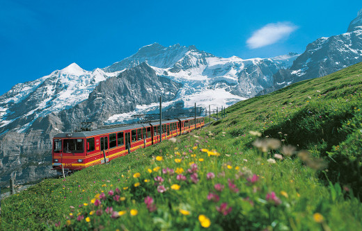 The highest Railway Station in Europe