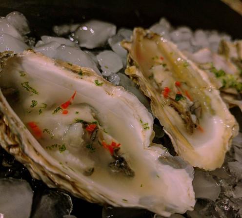 Oyster kinilaw
