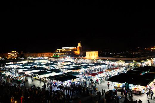 Djemma-el-Fna Square, Marrakech