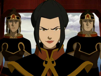 Azula, at the Fire Nation