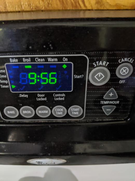 Set timer for 10 minutes