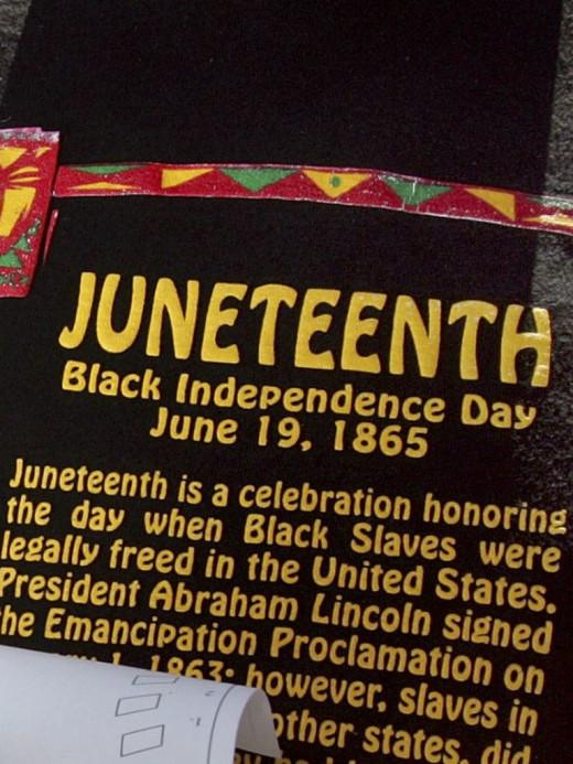 Despite popular belief, Juneteenth is Not Black Independence Day!