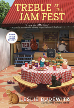 Book Review: Treble At The Jam Fest by Leslie Budewitz