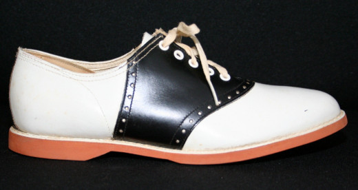 """Saddle Shoes - Flashback to a fashion fad from the 1950s and 1960s - I don't """"do"""" fads"""