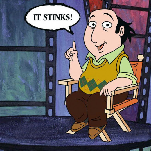 Jay Sherman from the 1994 ABC cartoon The Critic