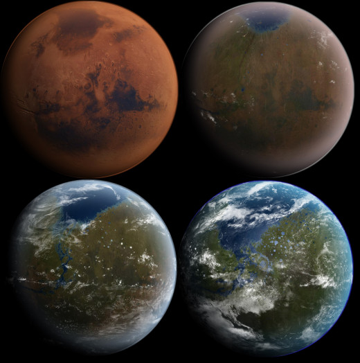 The dream of another planet to call our own is something which will always have more emotional appeal than building domes at the bottom of the sea
