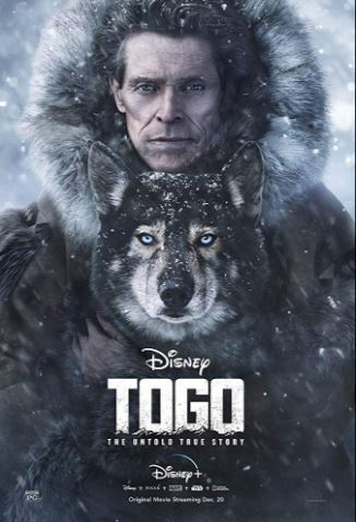 The movie stars Willem Dafoe as a man in a race against time and the elements.