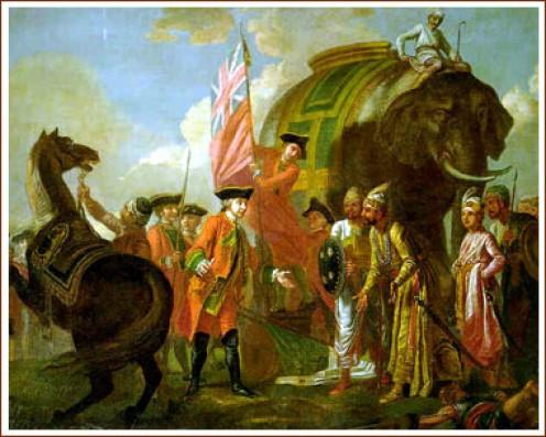 Robert Clive in Battle