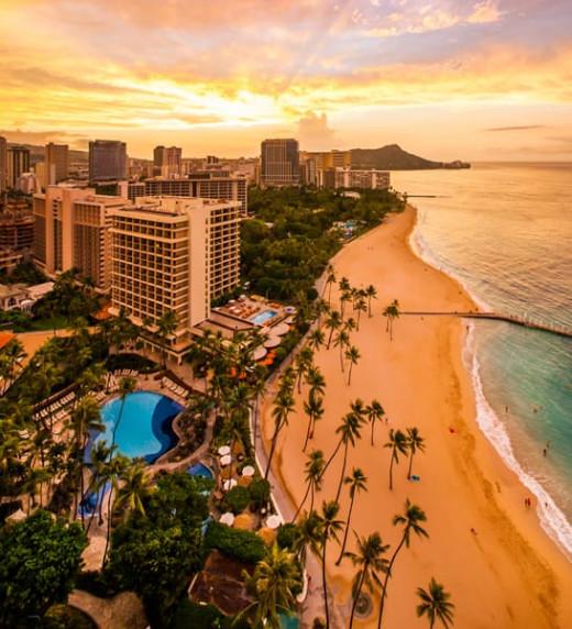 Alii Beach, Hawaii