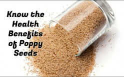 Know the Health benefits of Poppy Seeds; See inside